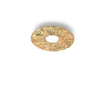 Kolarz CIRCLE - Livsstil Overflatemontert Taklampe - Vintage Gullfinish, 1x GX53