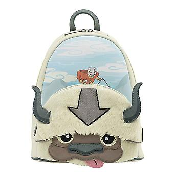 Loungefly Nickelodeon Mini Backpack Avatar Aang Appa Cosplay new Official White