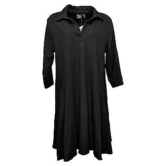 Women with Control Dress Regular Prime Stretch Denim 2 Swing Black A378251