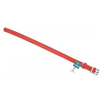 "Coastal Pet Single Nylon Collar - Red - 14"" Long x 5/8"" Wide"