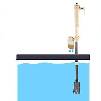 New Electric Siphon Vacuum Cleaner Water Filter Pump For Aquarium Fish Tank