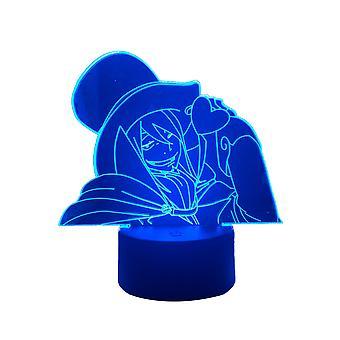 Straż pożarna Maki Oze 3d Lampa ledowa