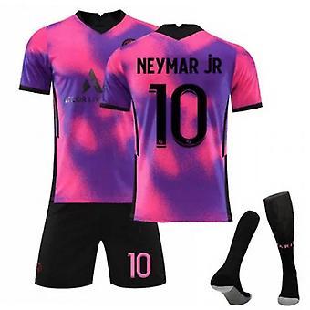 Camiseta de Neymar, Camiseta del Equipo de París-neymar-10, Equipo de París Tercera Visitante, Ropa infantil