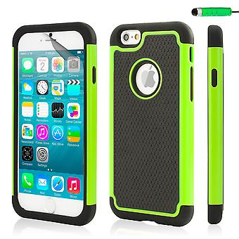 32nd Shockproof case for Apple iPhone 6 6S - Green