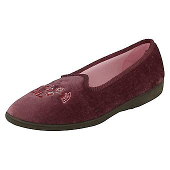 Ladies Sleepers Slip On Slippers Style 204319