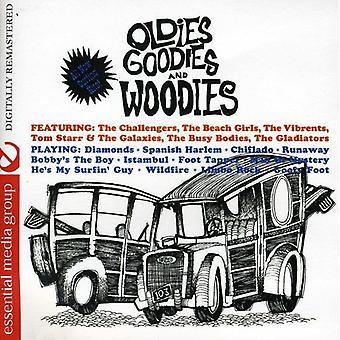 Importación de Oldies golosinas y Woodies - Oldies USA golosinas y Woodies [CD]