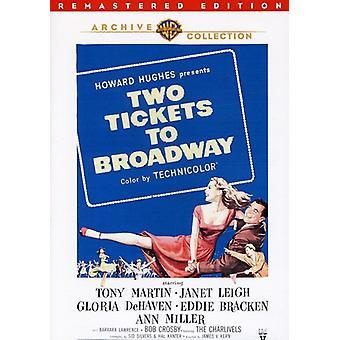 Deux billets pour Broadway (Remastered) [DVD] USA import