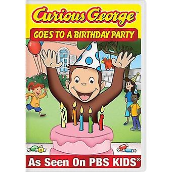 Curious George - Curious George Goes to a Birthday Party [DVD] USA import