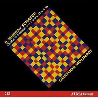 R. Murray Schafer - R. Murray Schafer: String Quartets 8-12 [CD] USA import
