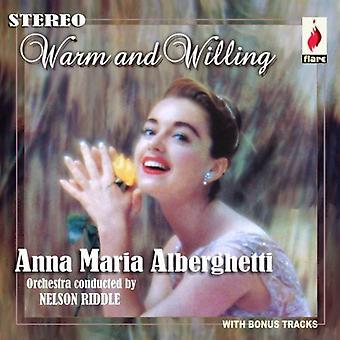Anna Maria selbst - warme & bereit [CD] USA import