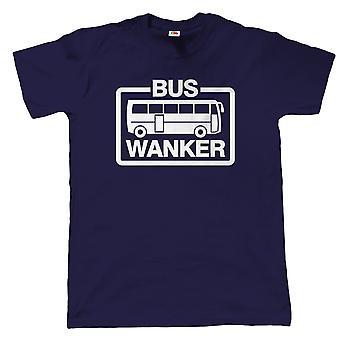 Bussi Wanker, Mens Funny offensiivi T-paita-lahja isä isien päivä