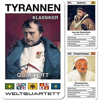 Tiran klassieke kaartspel Quartet