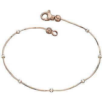 925 zilveren Rose goud vergulde armband