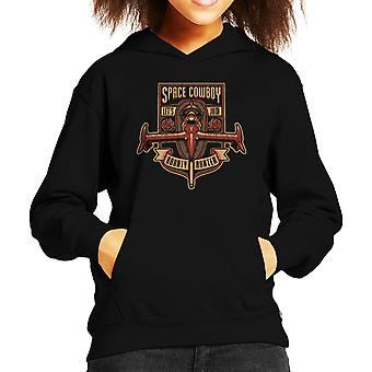 Just A Humble Bounty Hunter Cowboy Bebop Kid's Hooded Sweatshirt