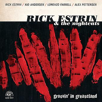 Estrin*Rick & Nightcats - Groovin' in Greaseland [CD] USA import