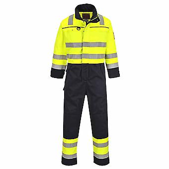 Portwest - Hi-Vis Flame Resist Workwear Multi-Norm Coverall Boilersuit