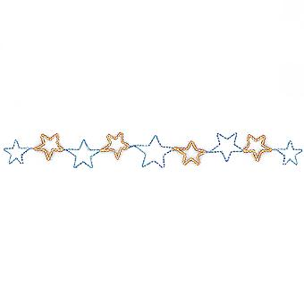 Christmas Shop Light Up Star Chain Decoration