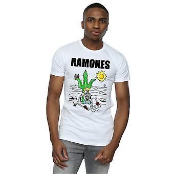 Camiseta vivo Loco de Ramones los hombres