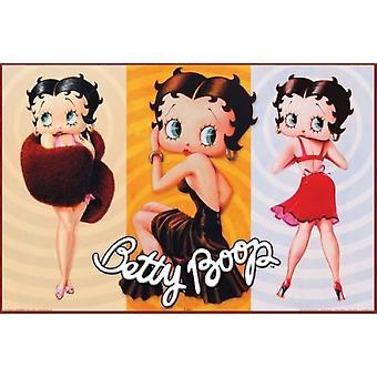 بيتي بوب-طباعة الملصقات ملصق الثلاثي
