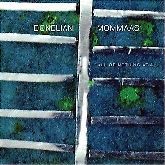Donelian/Mommaas - All or Nothing at All [CD] USA import