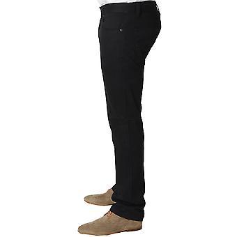 Claudio Lugli Black Regular Fit Mens Jeans