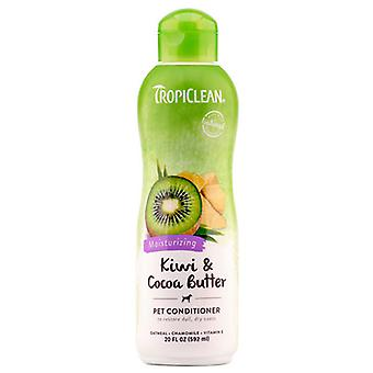 TropiClean hidratatie Kiwi & cacaoboter huisdier Conditioner