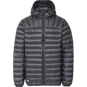 Traspaso Mens Romano Ultra ligero con capucha Packable abajo chaqueta