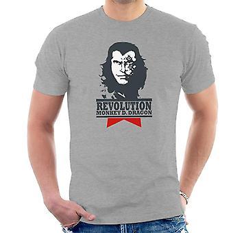 Één stuk Monkey D Dragon revolutie T-Shirt voor mannen