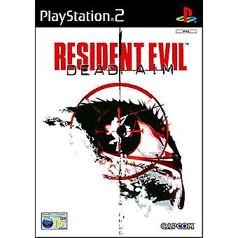 Resident Evil Dead Aim (PS2) - Ny fabrik forseglet