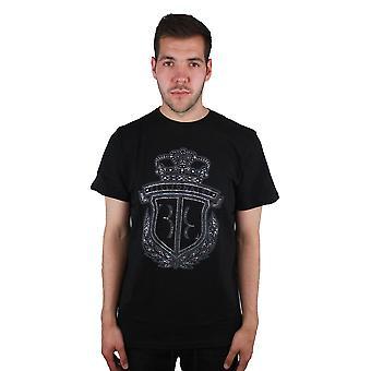 המיליארדר קלי MTK0677 02 חולצת טריקו שחורה