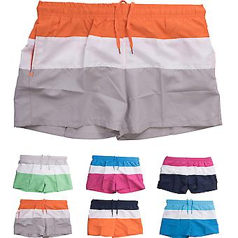Men Swim Shorts Trunks short summer shorts striped beachwear Swimming trunks