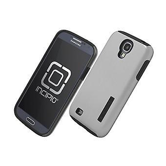 Incipio DualPro SHINE Case for Samsung Galaxy S4 (Silver/Black)