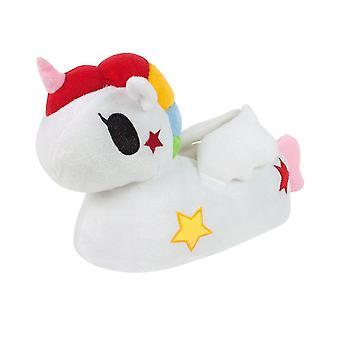 Tokidoki Childrens Girls Unicorno 3D Slippers