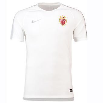 2018-2019 Monako Nike Squad szkolenia koszula (biały)