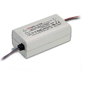 Mean Well APC-12-700 LED driver Constant current 12 W 0.7 A 9 - 18 V DC not dimmable, Surge protection
