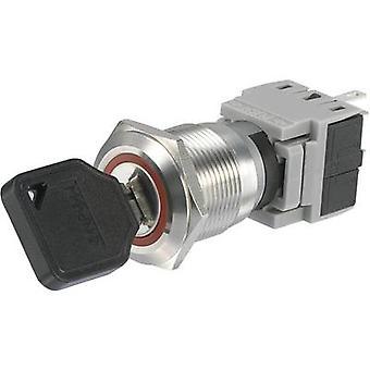 TRU komponenter LAS1-BGQ-11Y/23 nøkkel bytte 250 V AC 5 A 1 x Off/(On) 1 x 60 ° IP40 1 eller flere PCer