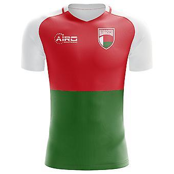 2020-2021 Madagaskar Strona główna Koncepcja Piłka nożna Koszulka