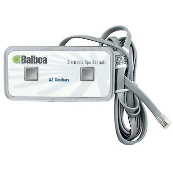 Balboa 51218 2-Button Auxillary 6-Conductor Spa Control Panel with 6' Cord