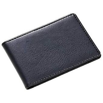 David Van Hagen pliage Business porte cartes en cuir - noir
