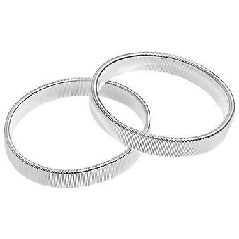 David Van Hagen chemise Armband - Silver