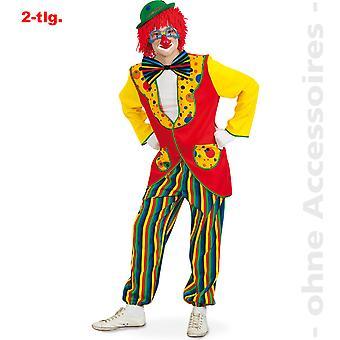 Passer clown drakt mens Clownkostüm Harlequin Mr drakt
