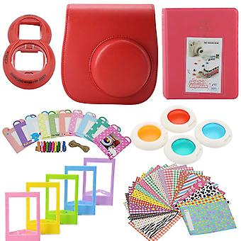 Accessory Sets for Fujifilm Instax Mini 8/9-Red