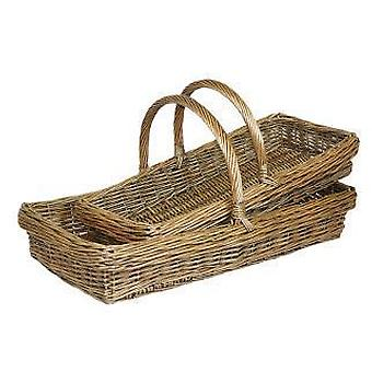 Set of 2 Kew Design Garden Trugs