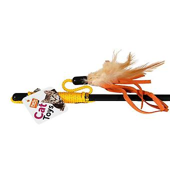 Karlie Flamingo Reed and feathers (Cats , Toys , Teaser Wands)