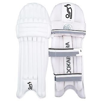 Kookaburra 2019 Ghost 2.0 Cricket Wimper Pads Leg Guards weiß/grau