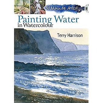 Maalaus vesi akvarelli (30 minuutin taiteilija)