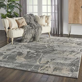 Fusion Nourison FSS16 Beige Grey  Rectangle Rugs Traditional Rugs