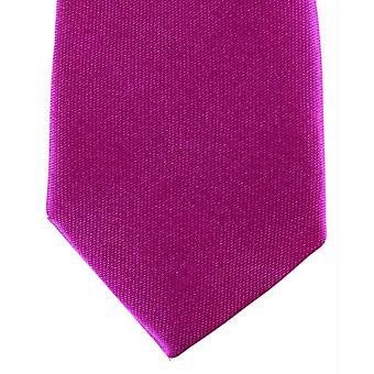 Knightsbridge halsdukar smal Polyester Tie - Hot Pink