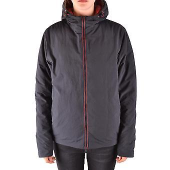 Herno Ezbc034017 Women's Blue Nylon Outerwear Jacket