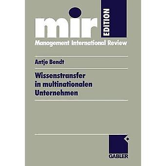 Wissenstransfer in Multinationalen Unternehmen durch Pahlow & Antje
